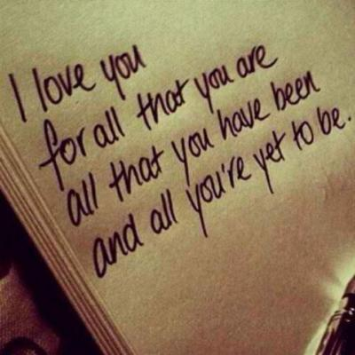 I love you is all that you can say