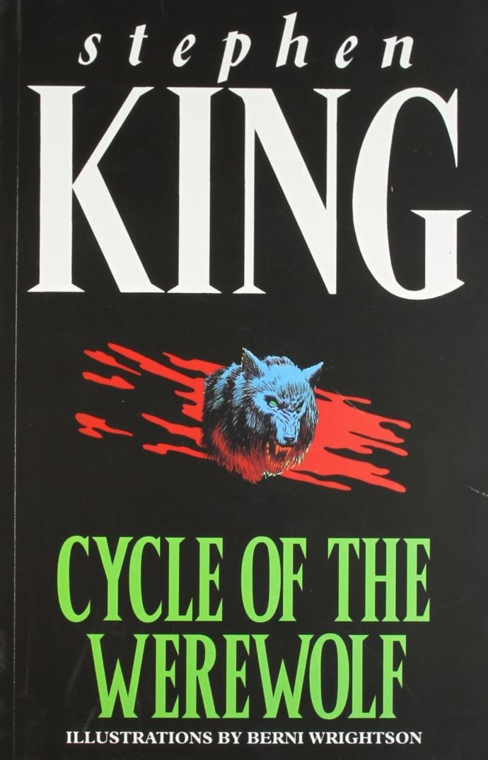 Waffles reviews books, Cycle of the Werewolf by Stephen King.