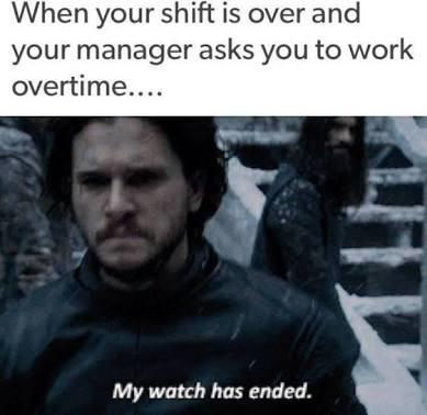 Some Game of Thrones memes you can relate with your daily life