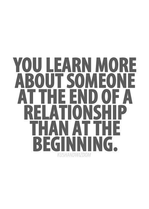 You Learn More About Your Ex at the End!