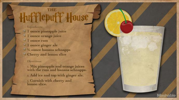 Harry Potter themed cocktails that every wizard, Muggle, or Mudblood can enjoy