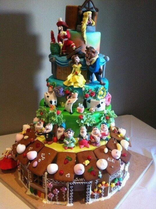 Disney cakes any Disney nerd would love