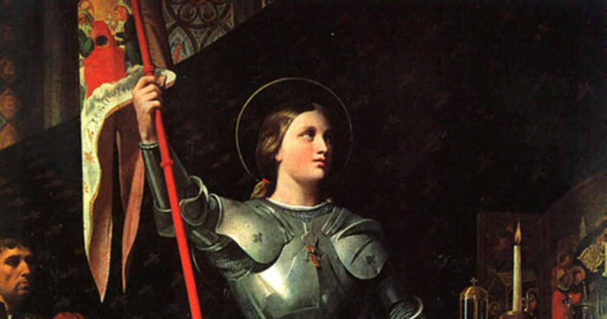 a biography of joan of arc and her canonization The course of canonization was closely followed by joan's devotees, and books like cochard's la cause de jeanne d'arc, describing how the process was proceeding, were popular (at right) many churches held yearly festivals in her honor the stocklist of the librairie jeanne d'arc shows printed pamphlets of the panegyrics delivered in orléans.