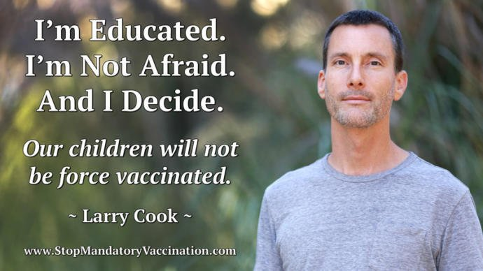 Stop getting vaccinations world-wide once and for all. They are a violation of human rights.