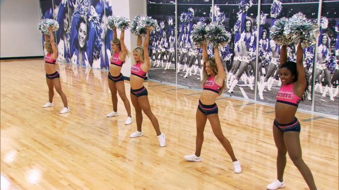 "Want to be a Cheerleader: Don't Be ""Thick"""