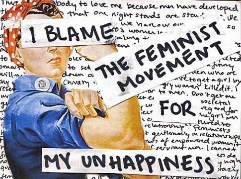 Quit Blaming Feminism For Your Failures And A Lack Of Success With Women. Face It. You're The Lame, Not Women.