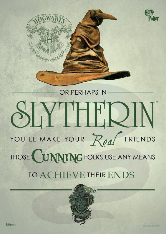 A Tribute to my Hogwarts House, Slytherin