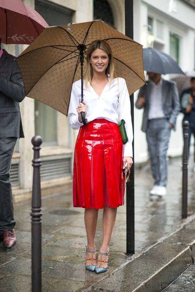 Red Autumn Fashion Choices