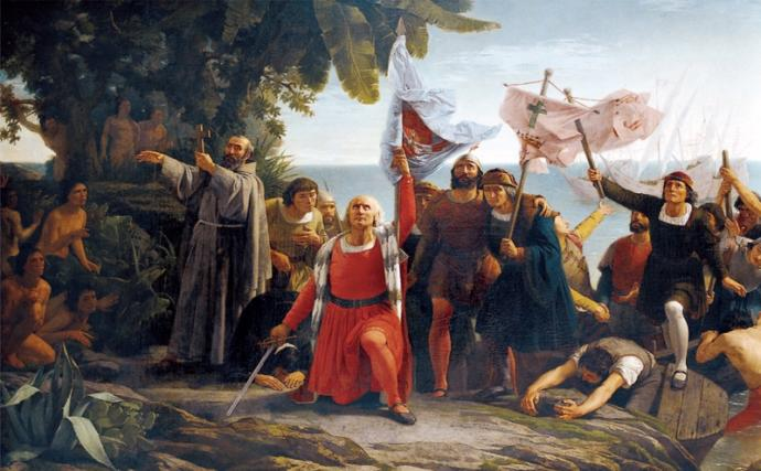 Happy Columbus Day! Especially To All Our Beautiful Patriotic Italian-Americans