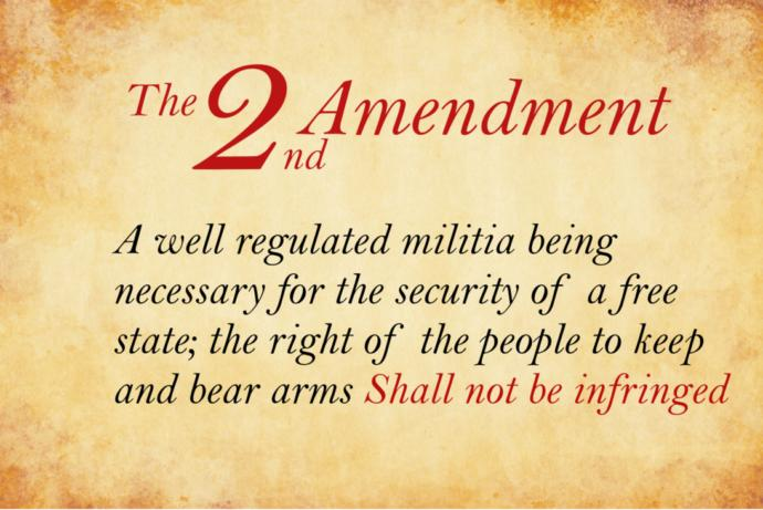 The importance and meaning of the second amendment.