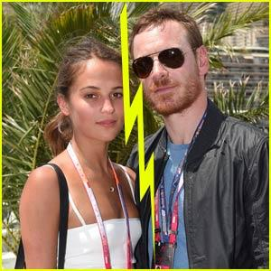 Alicia Vikander and Michael Fassbender Married!