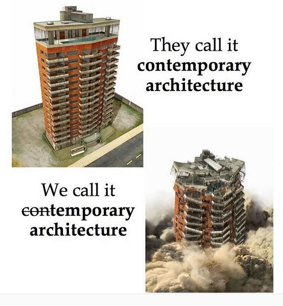 Why I Am Against Modern Architecture