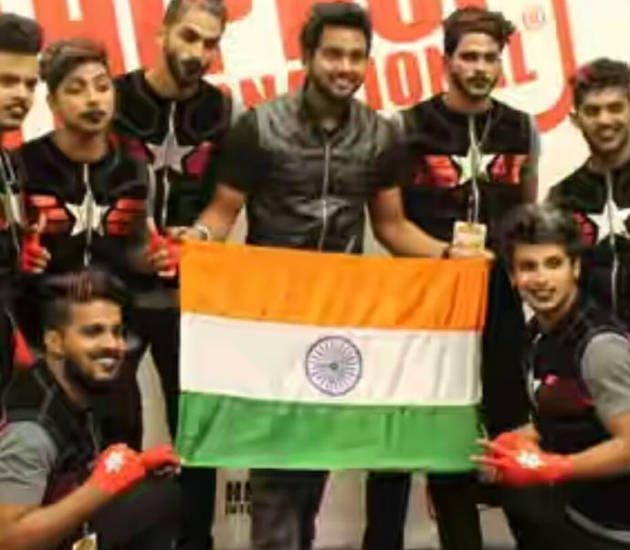 Hip Hop Troupe - Kings United India
