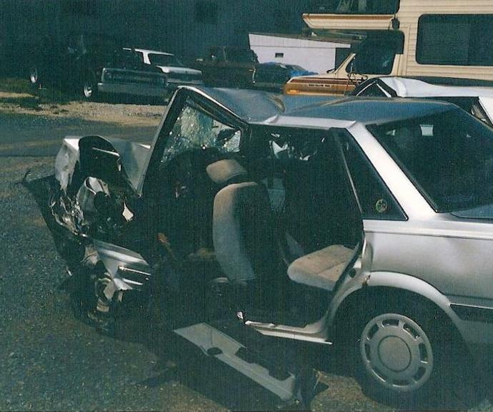 Head-on Car Crash Turned My World Upside-Down