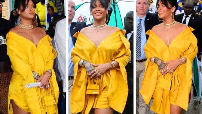 Barbadian Government Gave Rihanna's Name To The Street Where She Used To Live 🇧🇧