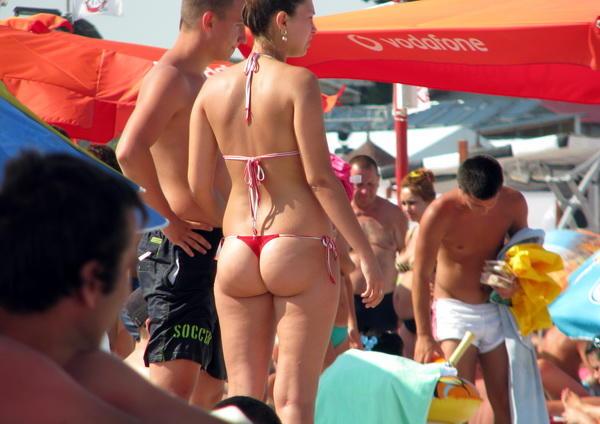 How Do You Feel About Women Wearing Thong Bikinis at the Beach?