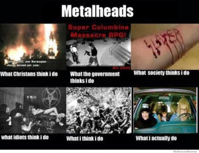 The Problems of Being A Female Metalhead
