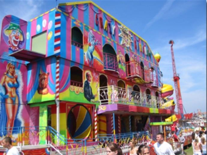 Funhouses Really WERE Fun Houses