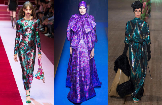 2018 Fashion Trends Haute Couture Inspired, i. e., NOT Wearable