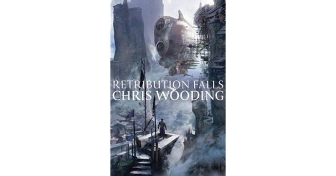 Waffles reviews, Tales of the Ketty Jay, Retribution Falls by Chris Wooding.