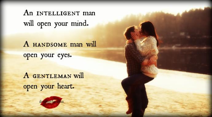 """""""Most"""" Women Love A Gentleman"""