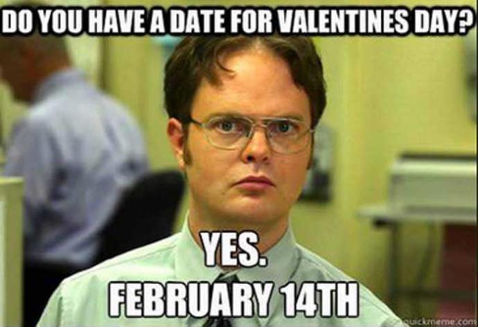 Going solo on Valentines Day is not a big deal.