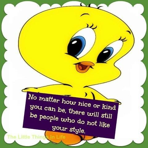 Cute, Sweet and Adorable Tweety Bird! Top 18 quotes from America's Most Loveable Cartoon Canary !