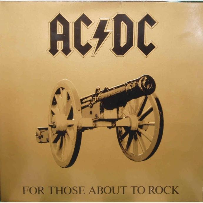 AC/DC's For Those About To Rock Record