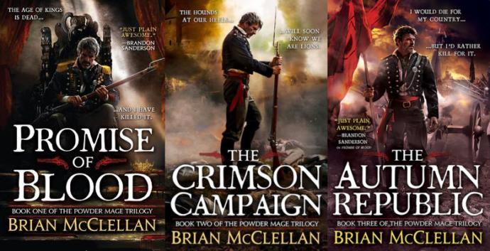 Waffles Reviews Books; The Powder Mage Trilogy by Brian McClellan