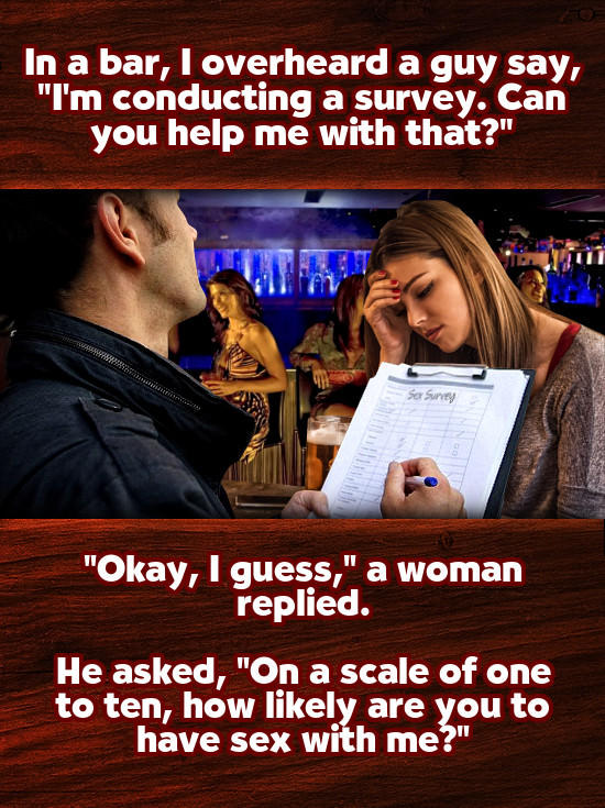 10 of the Worst Pick-Up Lines You've Ever Heard