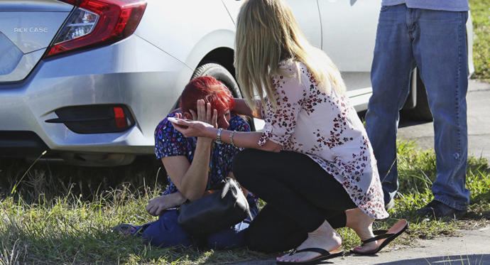 Armed Officer Didn't Go Into The Florida School - Stood Outside for 4 Minutes Waiting For It To Be Over