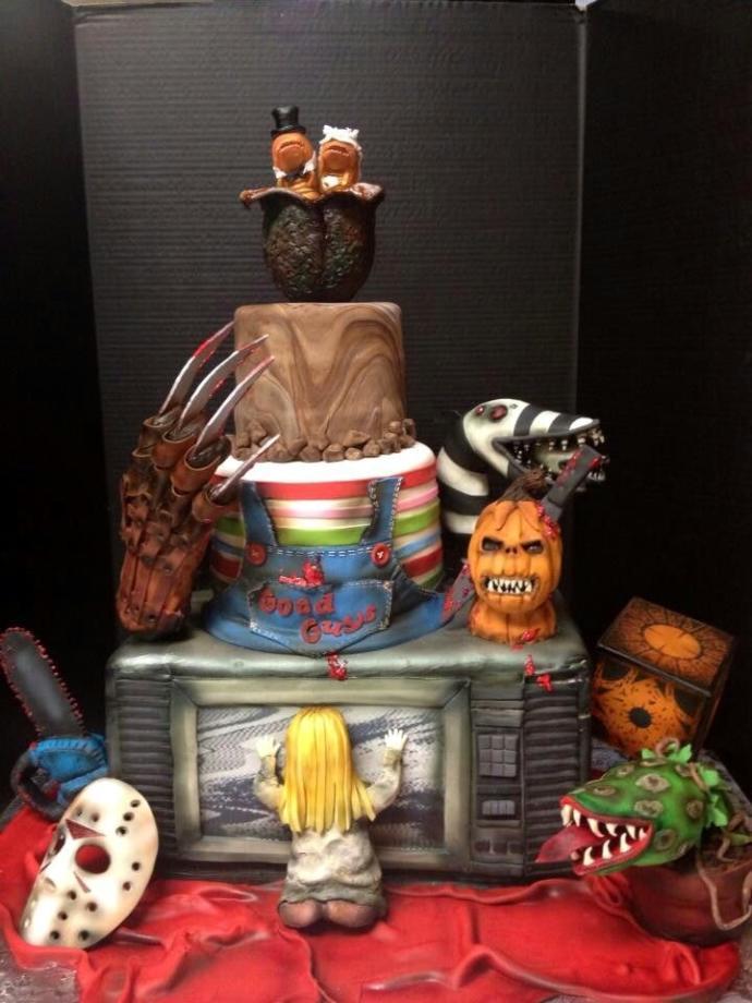 8 Unusual Wedding Cakes
