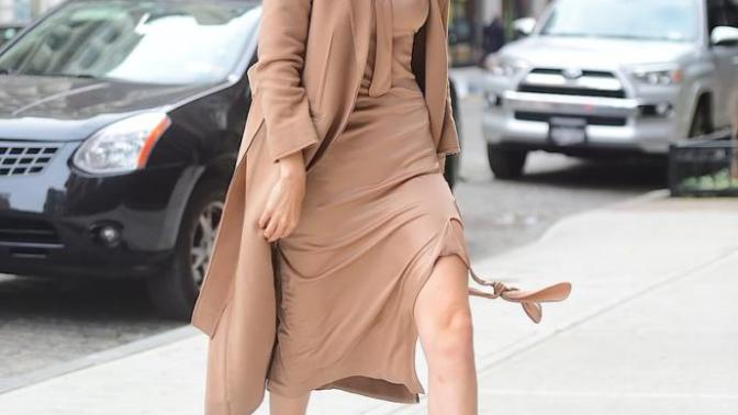 Nude Fashion Is IN And It's Striking