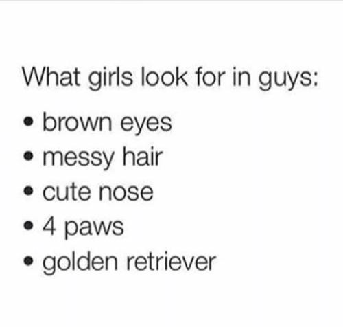 What I Look For In A Guy