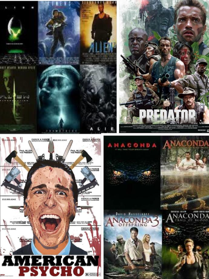 """My """"Alphabetically-Ordered"""" Take on These Movie Franchises"""