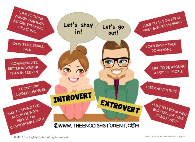 Extroverts and Introverts - Which One Are You?