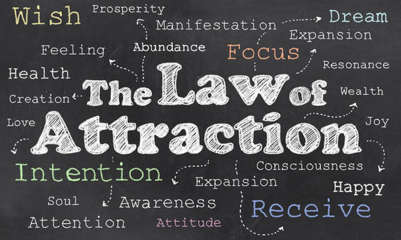 The Law of Attraction is Real-- Do Not Underestimate It.