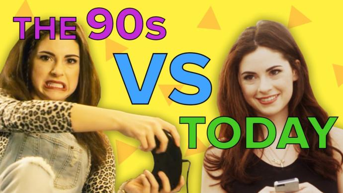 Technology In The 90's vs Now: A Side By Side Comparison