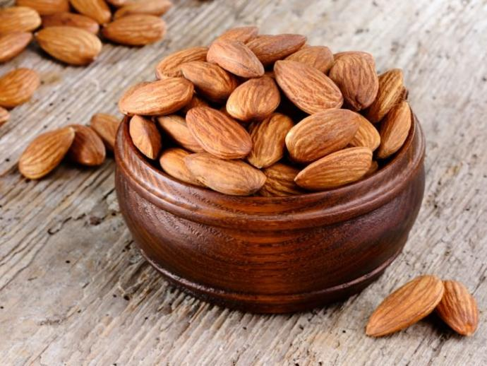 Almond is a food that helps to lose weight