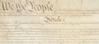 WE THE PEOPLE OF THE UNITED STATES IN ORDER TO FORM A MORE PERFECT UNION, ESTABLISH JUSTICE ENSURE DOMESTIC TRANQUILITY. PROVIDE FOR THE COMMON DEFENSE, PROMOTE THE FABRIC OF LIBERTY TO OURSELVES AND OUR POSTERITY, DO ORDANE AND ESTABLISH THIS CONSTITUTION FOR US AND THE UNITED STATES OF AMERICA. Believe it or not, I have had the preamble memorized since 5th grade. I typed that all out. Each line we went over as each one has significance and importance.