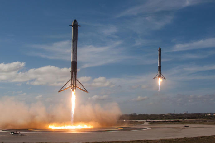 Space X Rockets
