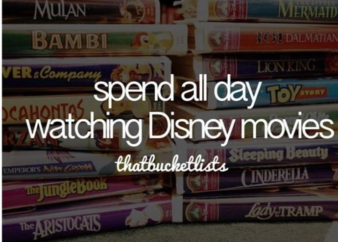 How to pull off a Disney Movie Marathon