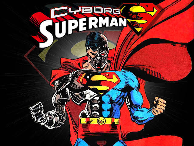 The Cyborg Superman.