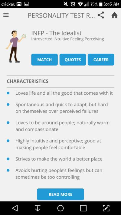 Split Personalities: My Two Cents on the Meyers-Briggs (MBTI