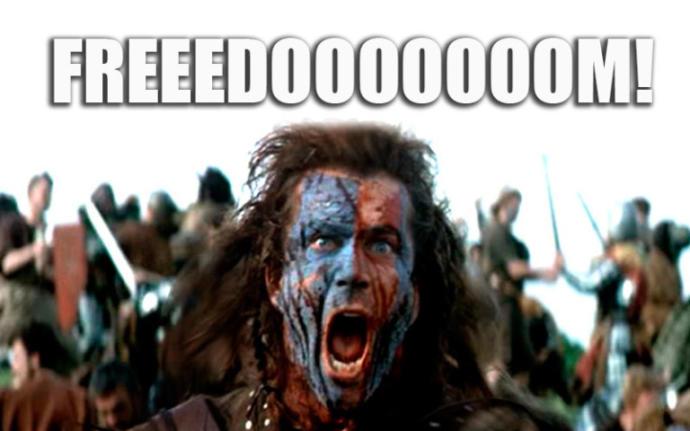 Fun Fact: William Wallace didn't wear a kilt or paint his face blue!