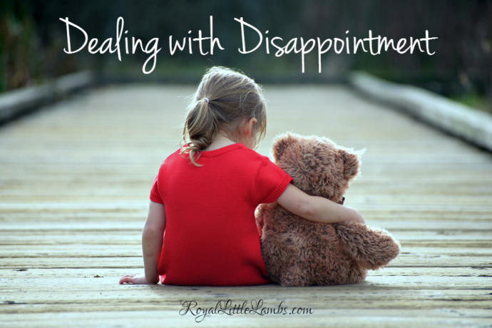 Disappointment: The self esteem killer.. and how to overcome it