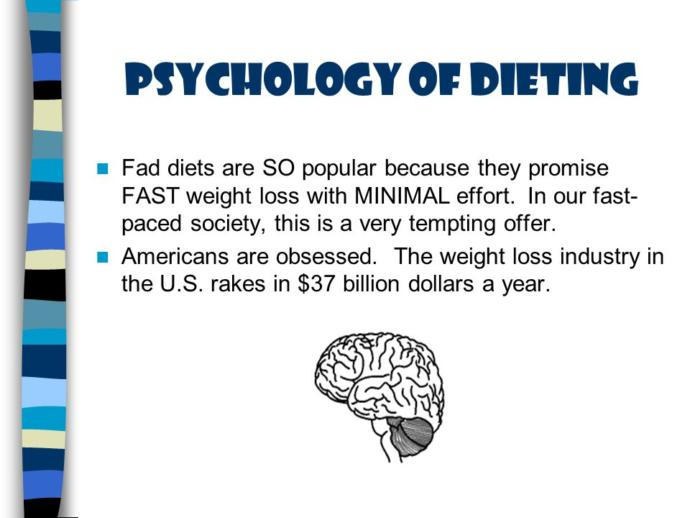 Psychological, Sustainable Weight Loss