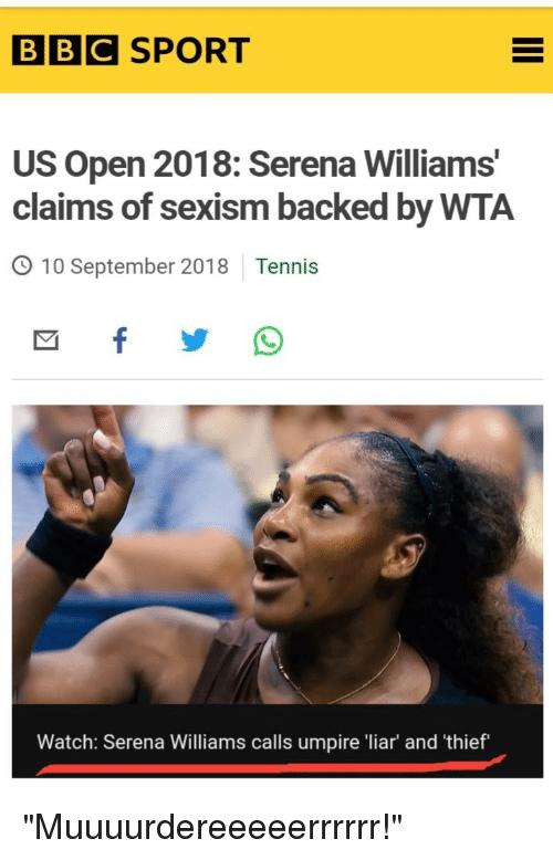 Serena Williams Lost Because of Sexism!!