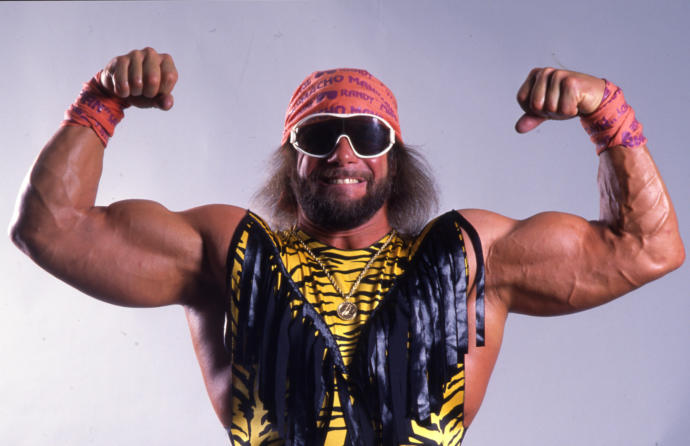 The only man that could ever make going full macho work