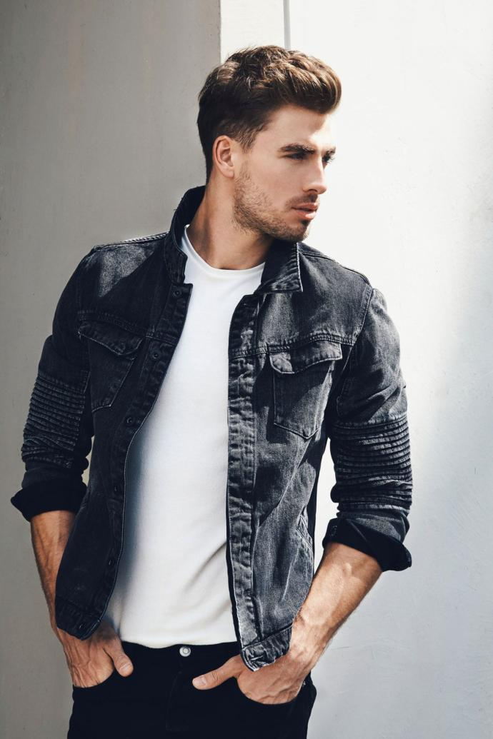 A random photo of a male model.